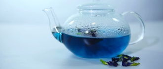 От чего пьют пурпурный чай Чанг Шу