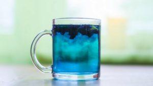 синий напиток купить